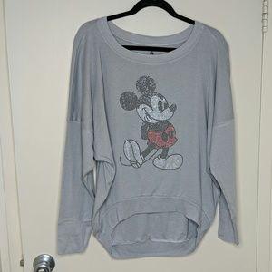 Disney Parks Mickey Mouse Bling Top - Sz XL - EUC